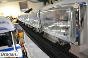 Pour-Pre-09-Scania-P-G-R-Serie-Topline-Noir-Toit-Barre-LED-Rectangle-Pois