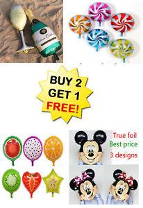 Détails Sur 25 Mickey Mouse Minnie Fête Danniversaire Ballons Thème Baby Shower Fournitures Afficher Le Titre Dorigine