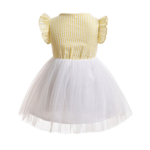 Girls Baby Toddler Kids Princess Dress Party Pageant Holiday Tutu 1st Birthday