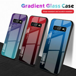 Tempered-Glass-Phone-Case-For-Samsung-Galaxy-S10-Plus-S10e-S9-S8