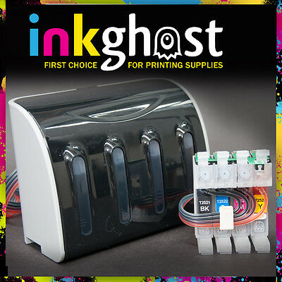 Inkghost 252 252XL 254XL CISS for Epson WorkForce WF7610 WF7620 Ink System CIS