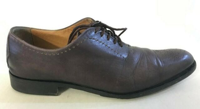 Oliver Sweeney Brown Antigue Leather Oxford Brogue Uk 10 RRP£329