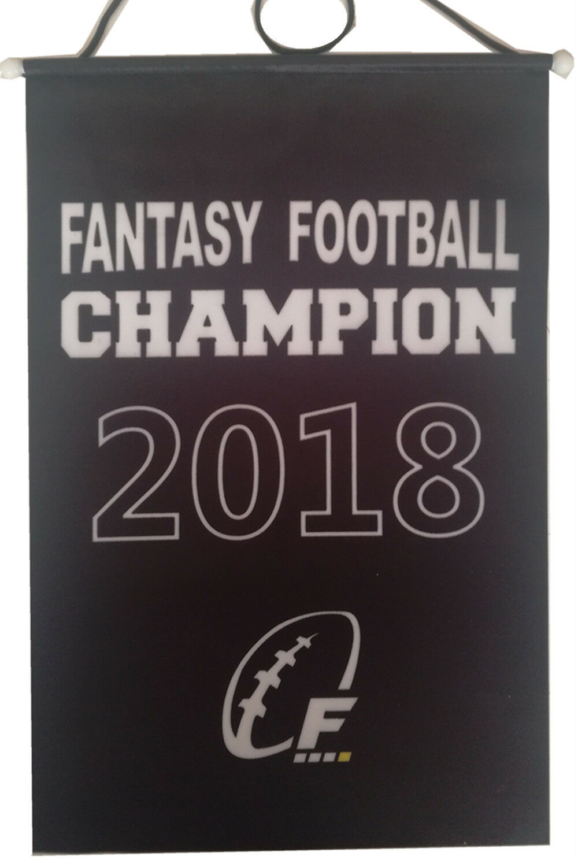 23055a30749 2017 FFL Fantasy Football Championship Banner Flag Awards Trophy 8.2 ...