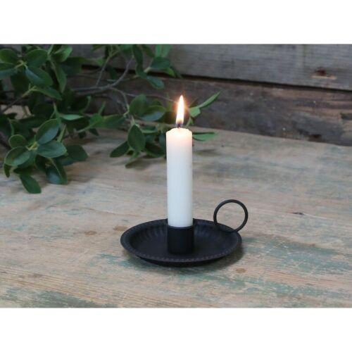 Chic Antique Kerzenständer Leuchter großer Kammerleuchter Antik 13x11cm Shabby