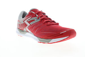 361 Degrees Chaser 101620118-2029 Mens Red Mesh Lace Up Athletic Running Shoes