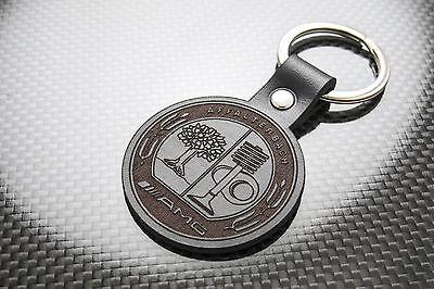 Porte-clés C63 E63 SLS Keychain Schlüsselring MERCEDES AMG Leather Keyring