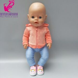 18-inch-doll-sport-outfit-set-Fit-43cm-Zapf-Baby-Born-Doll-clothes-dress-Wear