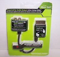 Xbox 360 Headset Audio Adapter For Hdmi Connections : Mad Catz {2921}