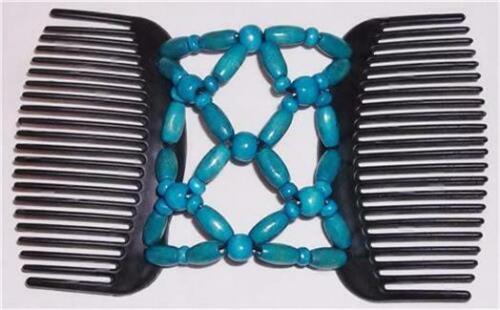 "Angel Wings Hair Clips 4x3.5/"" SKULL /& CROSSBONE MS79 African Butterfly Style"