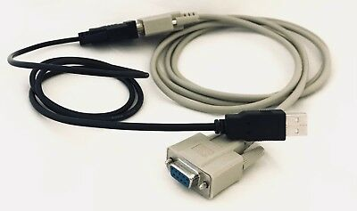 Dell PowerConnect Console Cable Kit USB Serial Null Modem 5424 5448 Switch