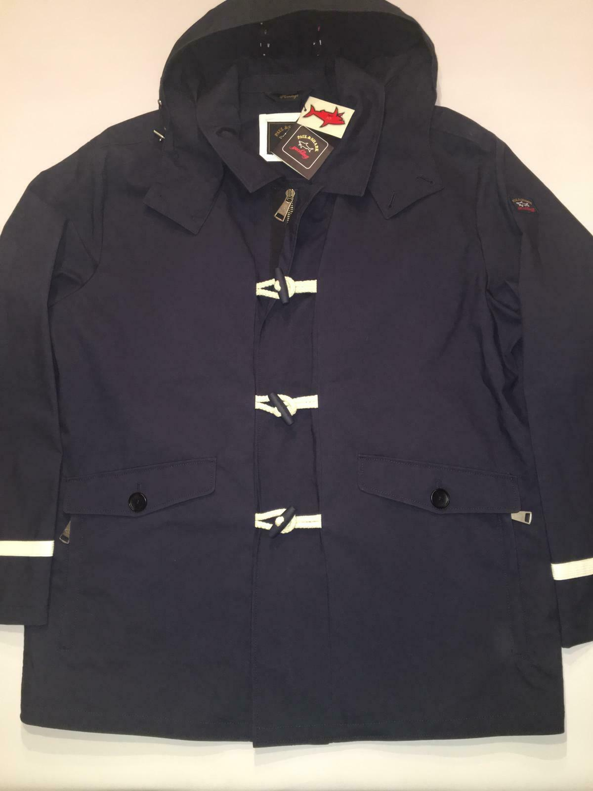 NEW Paul & Shark Jacket Giacca Uomo Uomo Cotton blu blu blu NAVY HERITAGE COLLECTION 3XL 2a5c45