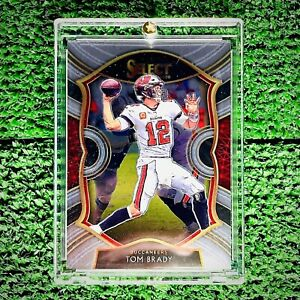 Tom Brady 2020 Panini Select #1 Super Bowl Tampa Bay Buccaneers Card Near Mint