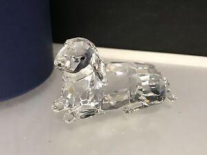 Swarovski-Figurine-Agneau-6-5-cm-avec-Emballage-D-039-Origine-amp-Certificat-Top-Etat