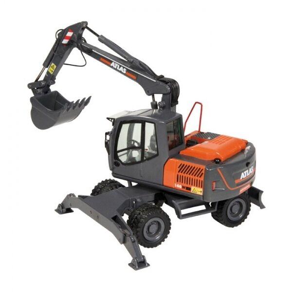 1 50 NZG Atlas 140w Escavatore mobile no. 955