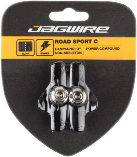 Jagwire Road Sport C Brake Pads Campagnolo Non-Skeleton Black