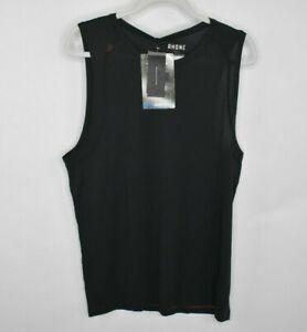 New-Rhone-Mens-Sentry-Tank-Sleeveless-Shirt-Size-XL-Black