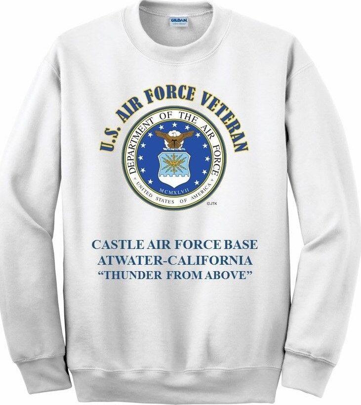 CASTLE AIR FORCE BASEATWATER-CALIFORNIAAIR FORCE EMBLEM SWEATSHIRT