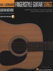 DéVoué Fingerstyle Guitar Songs Tab Music Livre Audio/hal Leonard Guitar Method-afficher Le Titre D'origine