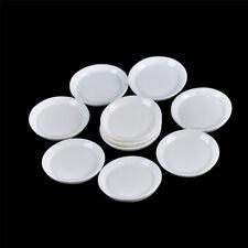 10pcs Dollhouse Miniature Resin Trays Plates Doll Mini Food Dishes Tableware JH