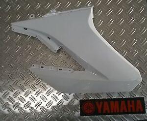yamaha wr125x wr125r verkleidung tankverkleidung rechts weiss ebay. Black Bedroom Furniture Sets. Home Design Ideas