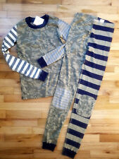 ff7396f6c0 item 1 NWT Hanna Andersson Organic CAMO MIX-IT-UP LONG John Pajamas 130 8  NEW -NWT Hanna Andersson Organic CAMO MIX-IT-UP LONG John Pajamas 130 8 NEW