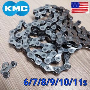 KMC-6-7-8-9-10-11S-116-118-Links-Chain-1-2X3-32-034-11-128-034-MTB-Road-Bike-Cassette