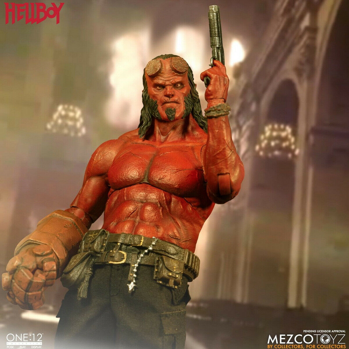 Mezco Spielzeugz 77540 1 12 Scale Hellboy 2019 Collectible Wirkung Figure Modell Spielzeugs