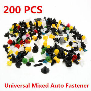 200pcs-Various-Car-Plastic-Rivet-Auto-Fasteners-Push-Pin-Bumper-Fender-Panel-Hot