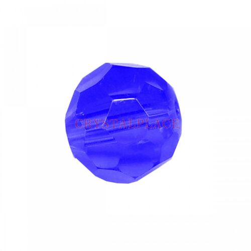 Pk 140 SunCatcher Tanzanite Crystal Bead 8mm Center Hole Small Ball Prism Unique