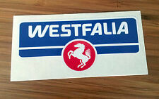 VW VOLKSWAGEN westfalia camper bus van sticker 1x