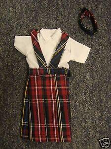 NIP-3-pc-SCHOOL-UNIFORM-Dress-Jumper-Outfit-Clothes-for-Barbie-doll-PLAID-56