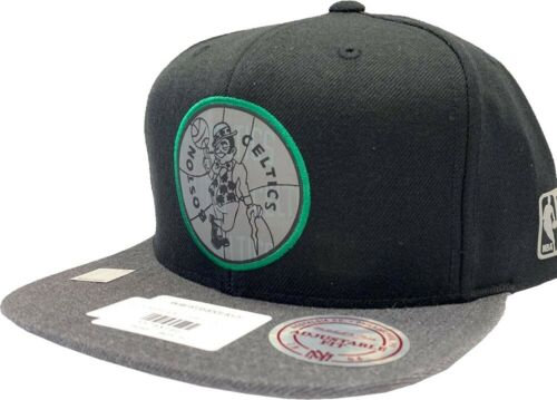 Mitchell /& Ness Boston Celtics Reflective Duo Intl 305 Snapback Cap NBA HWC Capuchon