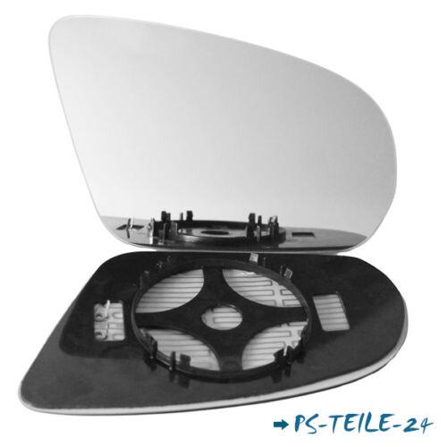 Spiegelglas für MERCEDES E-Klasse W213 2016-2018 rechts konvex beheizbar