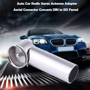 Auto Car Radio Stereo Antenna Adapter Aerial Connector Converts DIN to ISO