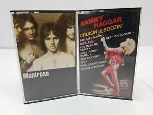 sammy hagar cassette tapes lot of 2 cruisin boozin montrose bad motor scooter ebay. Black Bedroom Furniture Sets. Home Design Ideas