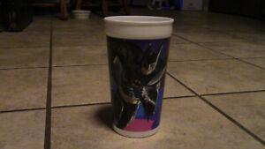 McDonalds Batman Returns Cup Coca Cola Michael Keaton 1992 DC comics