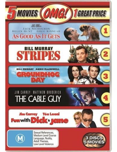 1 of 1 - The As Good As It Gets / Cable Guy / Fun With Dick And Jane / Groundhog Day / St