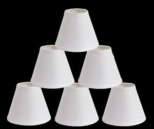 Urbanest linen chandelier mini lamp shades hardback 3x6x5white image is loading urbanest linen chandelier mini lamp shades hardback 3 mozeypictures Image collections