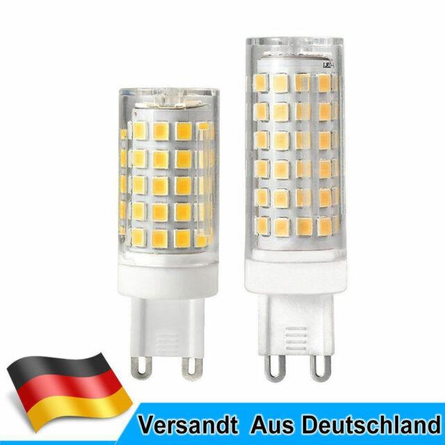 G9 8W=60W//12W=95W LED Glühbirne Energiesparlampe Warmweiß//Kaltweiß Flimmerfrei