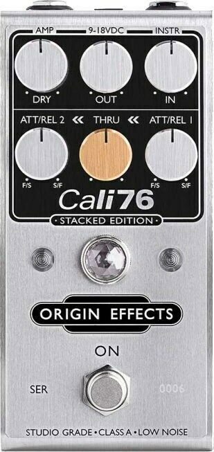 Origin Effects Cali76 Stacked Edition Dual FET Compressor Pedal