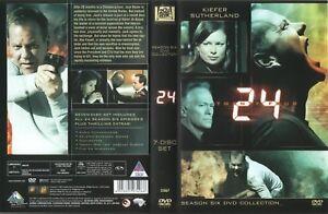 24 Complete SeasonSeries 6 Six 2007  6 DVD Box Set  Kiefer Sutherland - Watford, United Kingdom - 24 Complete SeasonSeries 6 Six 2007  6 DVD Box Set  Kiefer Sutherland - Watford, United Kingdom