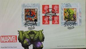 2019-Marvel-livret-de-autocollantes-timbres-Royal-Mail-First-Day-Cover