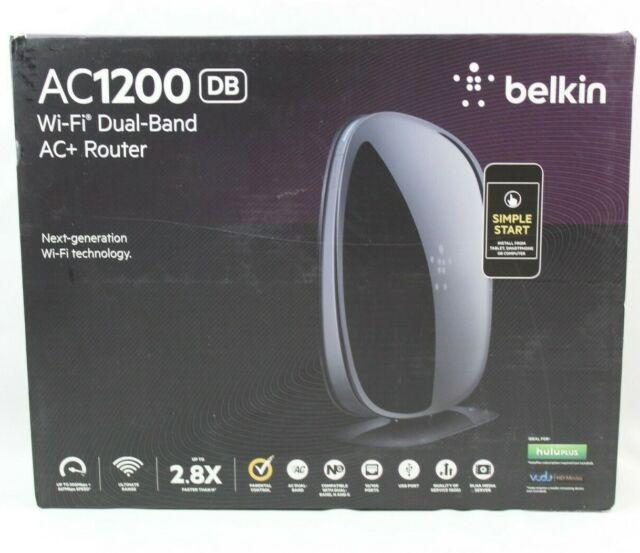 Latest Generation Belkin AC1000 Dual Band Wireless AC Router Gigabit