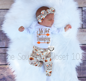 76d0361ac872 Baby Thanksgiving Outfit