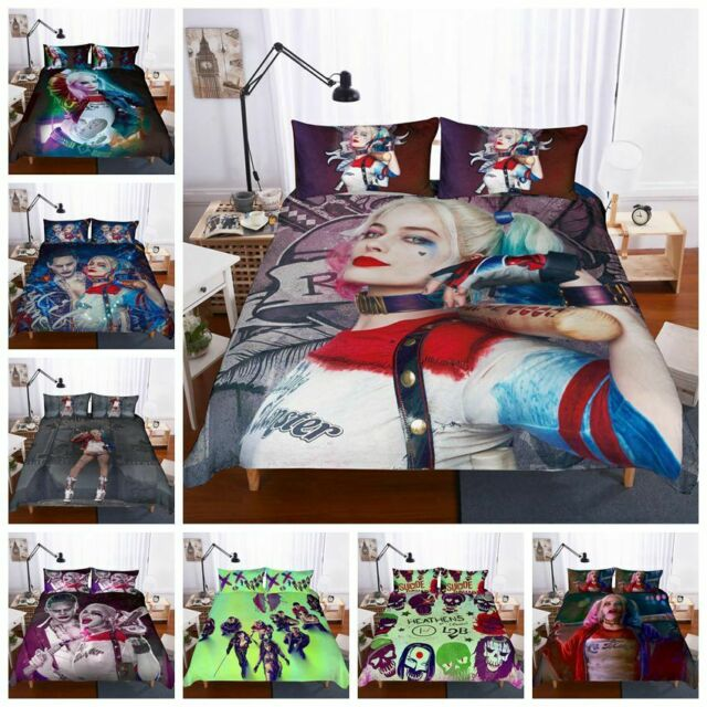 Harley Quinn And Joker Suicide Squad Pillow cover case Pillowcases