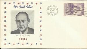 US Political Presidential ELECTION DAY Adlai Stevenson(loser) NOV/6/1956
