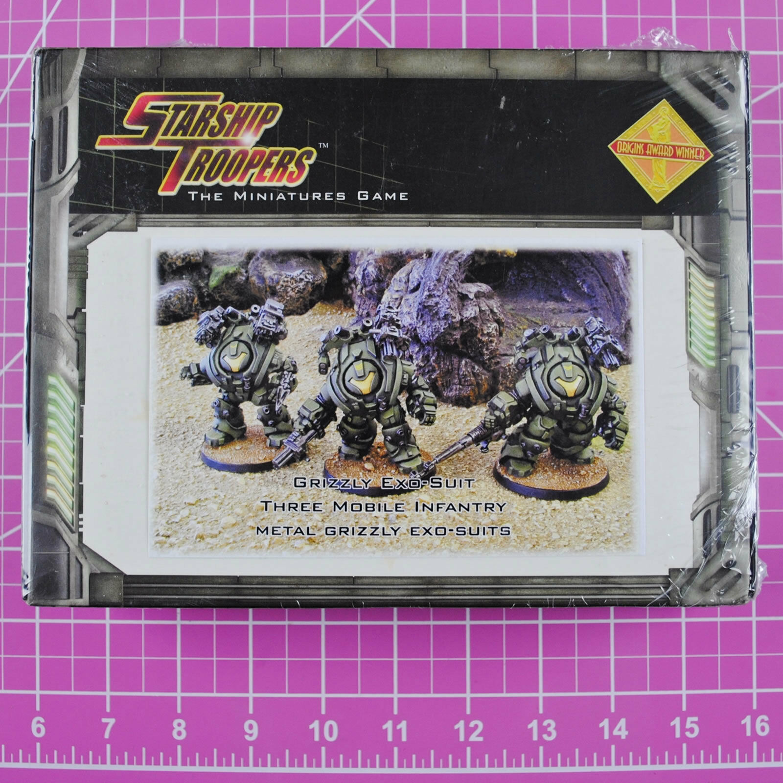 Starship troopers grizzly exo - anzug - truppe, die mobile infanterie nib mungo selten -