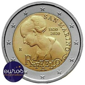 2-euros-commemorative-SAINT-MARIN-2020-Disparition-de-Raffaello-BU