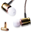 thumbnail 1 - Real-Bullet-Munitions-In-Ear-Earphones-Headphones-with-Mic-Federal-40-FBI-Bass
