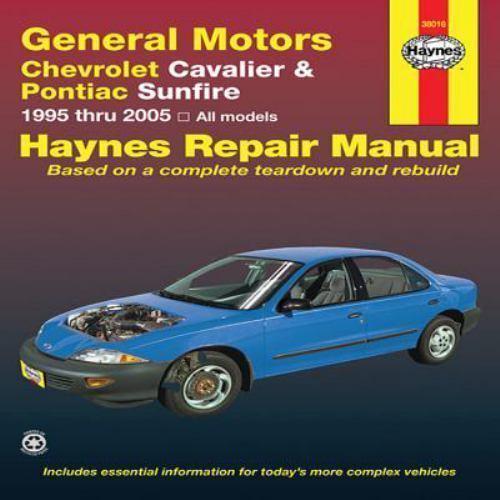 Haynes Repair Manual  General Motors Chevrolet Cavalier